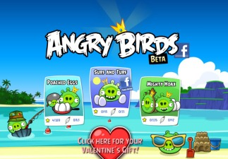 Angry Early Birds on Facebook