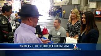 Warriors to Workforce Hiring Event
