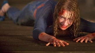"Scary ""Cabin in the Woods"" Has a ""Teensy Bit"" of Blood"