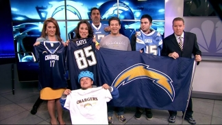 NBC 7 Crew Bets on Bolts