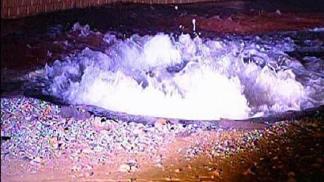 Large Sinkhole Opens Up