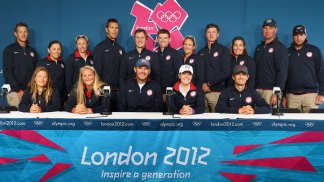 U.S. Sailing Action in London 2012