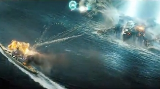 """John Carter"" Star Taylor Kitsch Resurfaces in New ""Battleship"" Trailer"