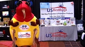 Exterminators Battle Bedbugs