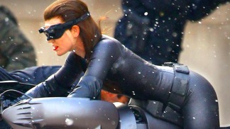 "Anne Hathaway on Wearing the Catwoman Suit In ""The Dark Knight Rises"""