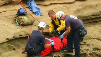 Sunset Cliffs Rescue: Images