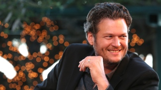 "Blake Shelton Chats About ""The Voice"""