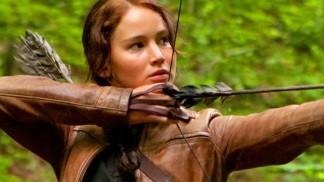 """The Hunger Games"" Star: Jennifer Lawrence"