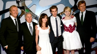"Stars Hit ""The Amazing Spider-Man"" Premiere"