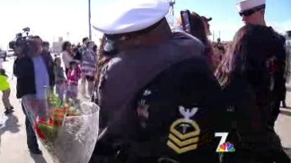 USS Benfold Returns to San Diego