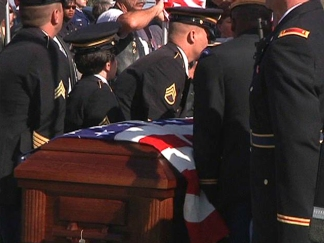 Local Fort Hood Victim Laid to Rest