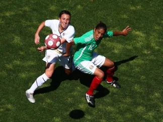 USA Tops Mexico 3-0 in Women's Soccer Match