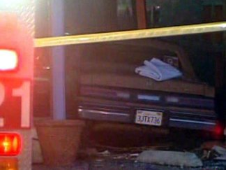 Car Crashes into Cass Street Bakery