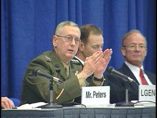 Feb. 1: 2005: Marine General's Comments Draw Fire