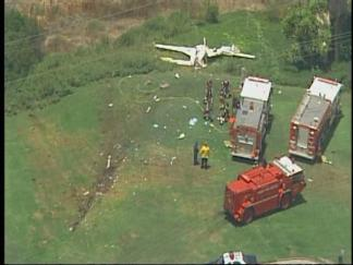 Plane Goes Down Near Montgomery Field