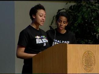 UCSD Black Student Union Speech