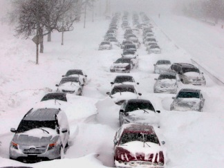 Dramatic Photos: Colossal Winter Storm Hits Midwest and Northeast