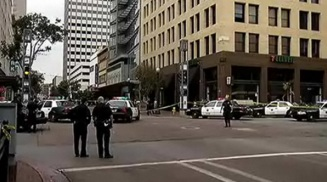 Phone Video Captured Moments After Downtown Shooting