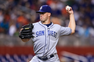 Richard and Schimpf Lead Padres to Win