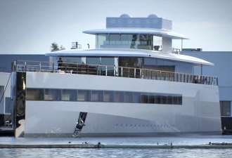 Steve Jobs-Designed Super Yacht Unveiled