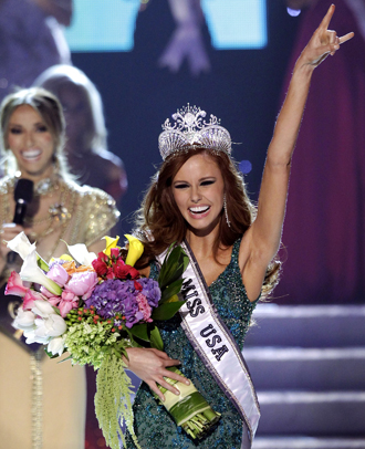 Controversial Cali Girl Crowned Miss USA 2011