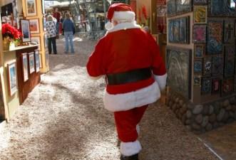 Santa, Sawdust, and Laguna Art