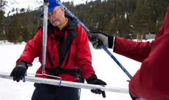 """Second Snowpack Survey of Season """"Dismally Meager"""""""