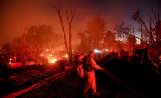 Suspected Arsonist Arrested in California Wildfire: Officials
