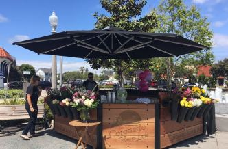 Well-Known Coronado Flower Shop Holds Grand Re-opening