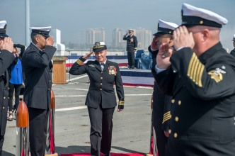 Cmdr. of USS Rushmore Requests to Be Relieved of Duty