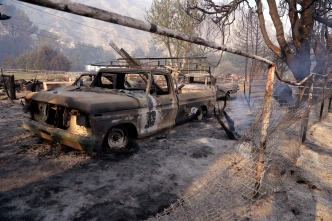 Historic Movie Ranch Destroyed in Calif. Wildfire