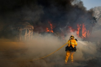 San Diego County Firefighter Dies Battling Thomas Fire