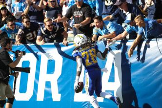 Chargers 'Hopeful' Gordon Can Play Against Chiefs