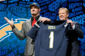 Chargers Draftees Pick Their Numbers