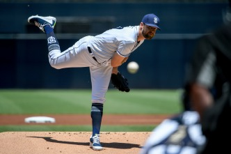 Jordan Lyles Throws for 7 Perfect Innings, Padres Top Rockies