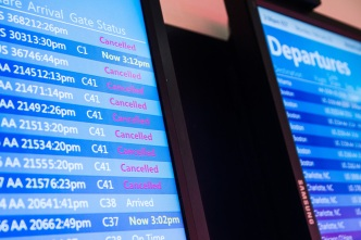 Nearly 150 Canceled Flights at Bay Area Airports