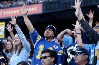 Fans Gather at Qualcomm to Celebrate Seau