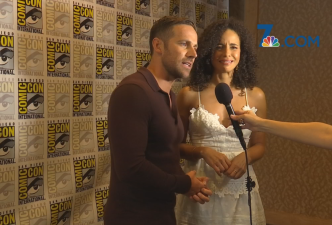 Stars of 'Midnight, Texas' Answer Questions At Comic-Con