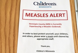 Measles Outbreak Caused by Vaccine Skeptics: Health Depts.