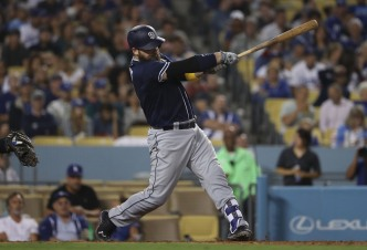 Padres Take Series Opener in L.A.