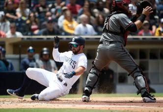 Garcia, Lauer Help Padres Complete Sweep of Arizona