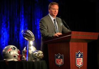 Mayor, NFL Commissioner Talk Stadium Progress