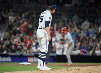 Phillies Rough Up Paddack, Padres Fall 9-6