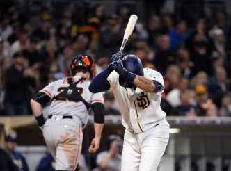 Padres Get Swept as Giants Win 8th Straight