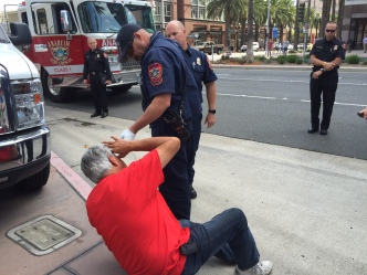 Pepper Spray Flies When Trump Supporters, Opponents Clash in SoCal