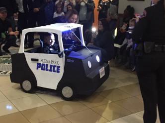 Police Build Mini Police Car to Fit Around Boy's Wheelchair