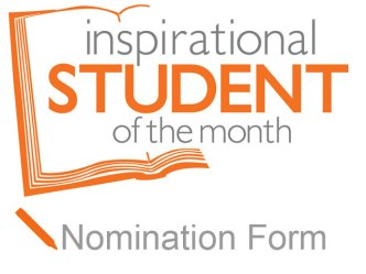 Nomination Form - Inspirational Student of the Month