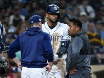 Tatis Exits Early in 7-5 loss to Rays