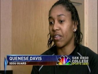 Interview With SDSU Women's Basketball Star Quenese Davis