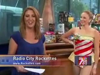 Rockettes on Streetside Moments